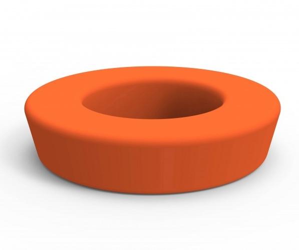 HOOP REDONDO - Bancada circular de polietileno rotomoldeado para uso interior y exterior. Protección contra rayos UV.