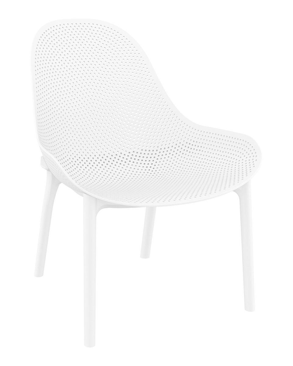SILLA SKY LOUNGE - La silla Sky Lounge está fabricada con polipropileno reforzado con fibra de vidrio. Para uso interior y exterior. Se puede desmontar.