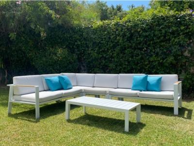 SET SOFA DE EXTERIOR BOLIVIA CORNER - Set para terraza o jardín modelo BOLIVIA CORNER de Majestic Garden