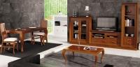 Salón contemporáneo Composición 25 - Salón contemporáneo madera