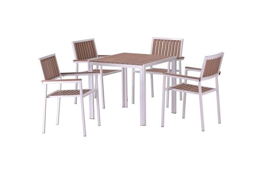 Conjunto de mesa y sillas Playamar 4 - Conjunto de mesa y sillas Playamar 4