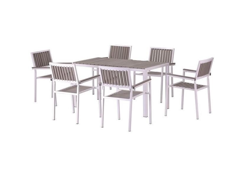 Conjunto de mesa y sillas Playamar 6 - Conjunto de mesa y sillas Playamar 6
