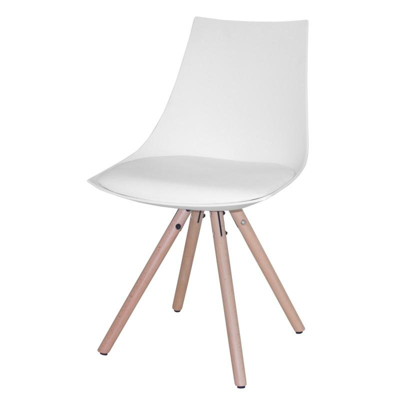 Silla Armony  - Silla Armony asiento tapizado en tela de PU