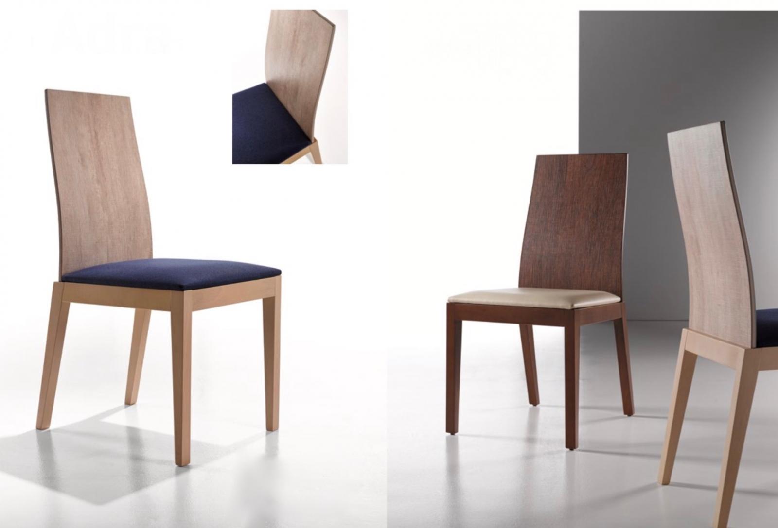 Silla Adra - Silla Adra, tapizado de alta calidad y con estructura de madera.