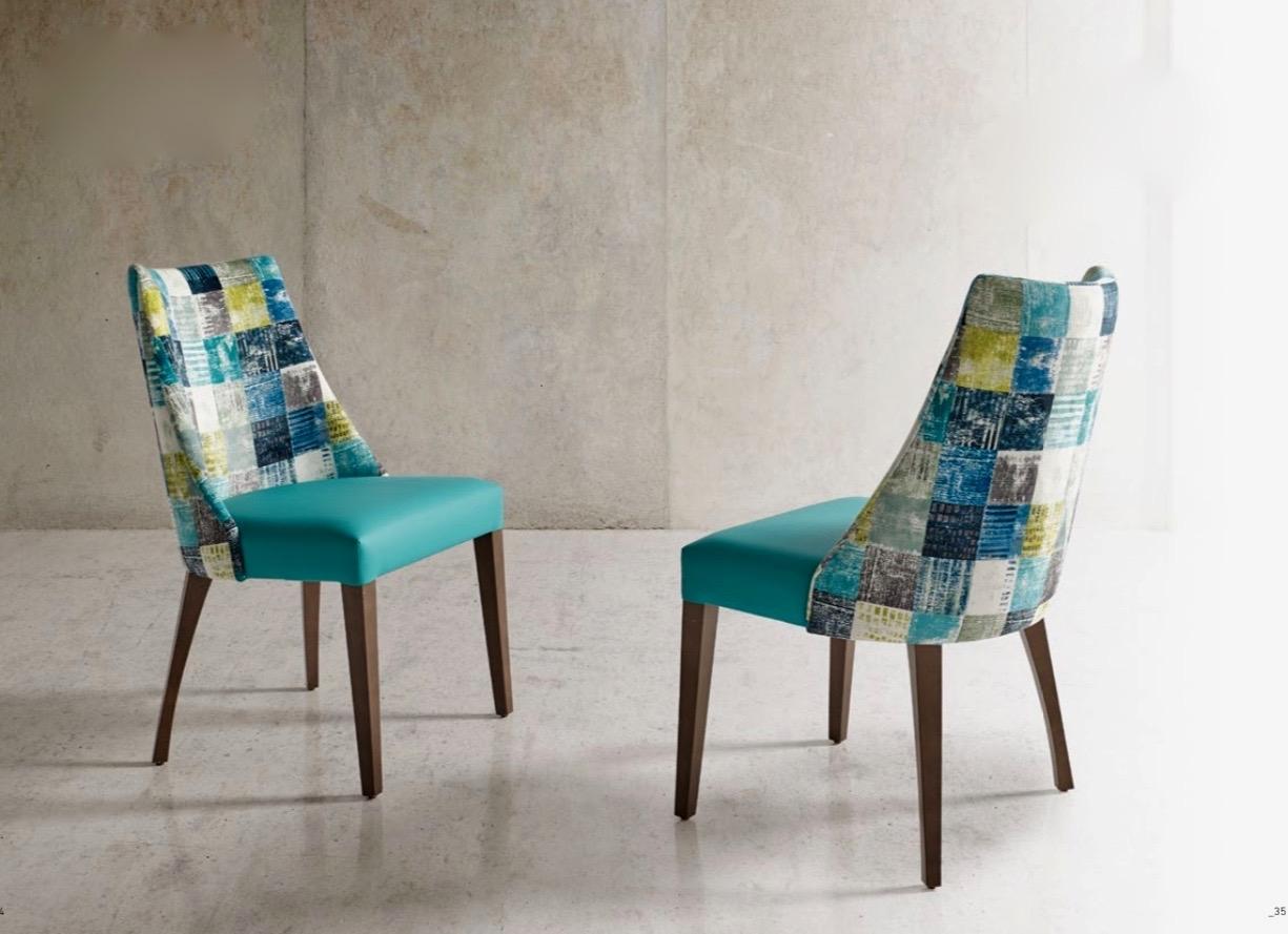 Silla Julia moderna - Silla Julia, tapizado de excelente calidad y madera de haya.  Moderna y cómoda.
