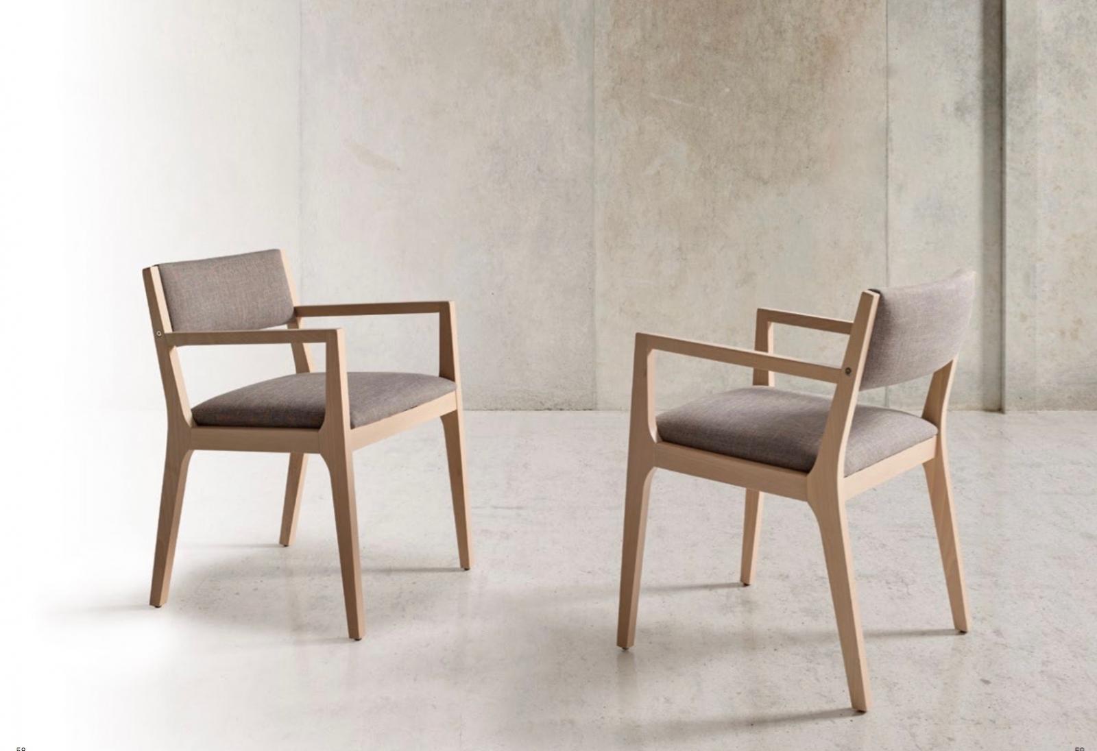 Sillón Inou - Butaca Inou, tapizado de máxima calidad, estructura de madera.