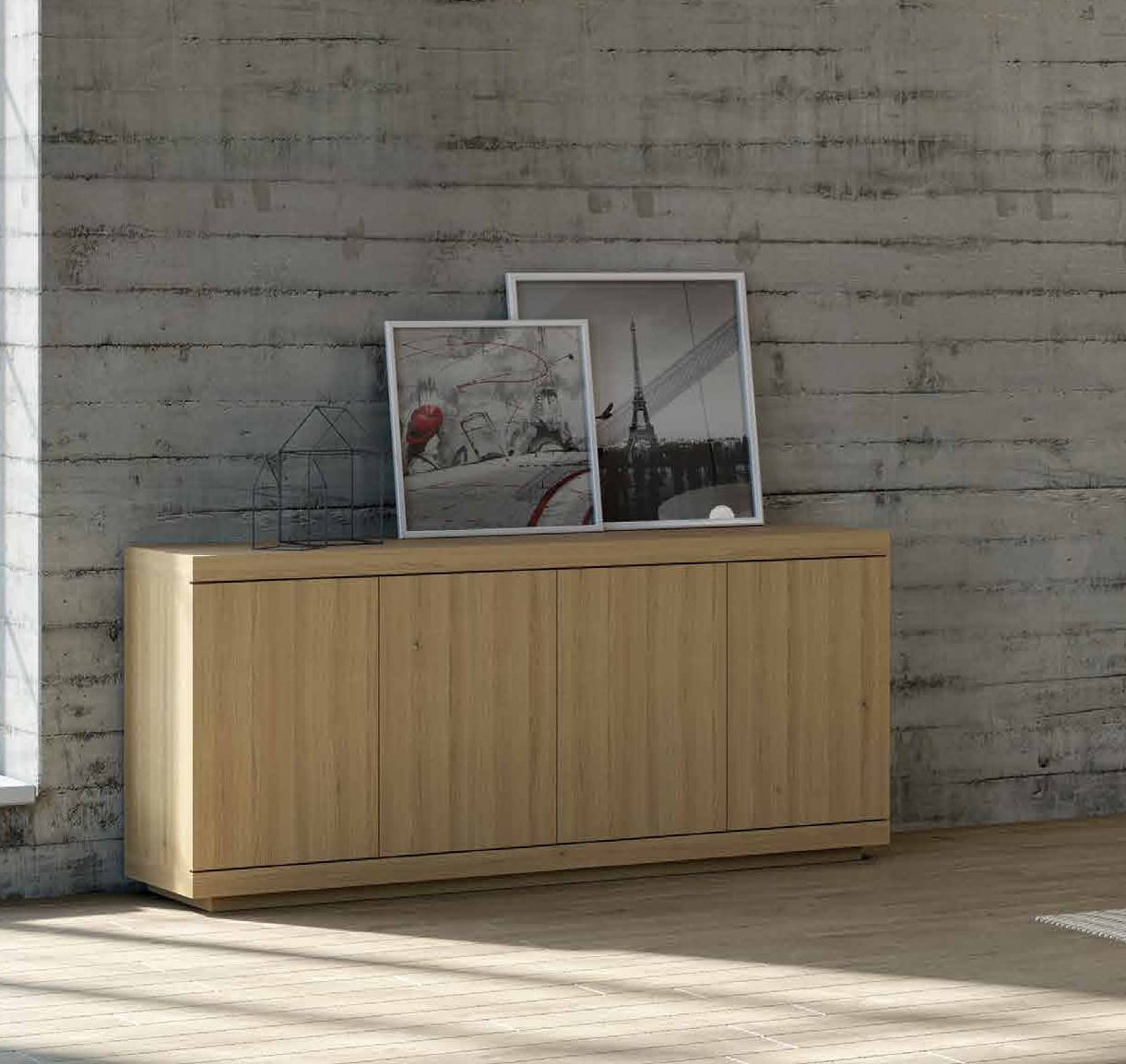 Aparador colección Terra AP06 - Aparador colección Terra AP06, Fabricado en madera de roble, aceite ecológico y cera natural