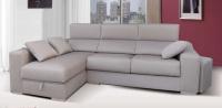 Sofá con chaiselong modelo Bombay