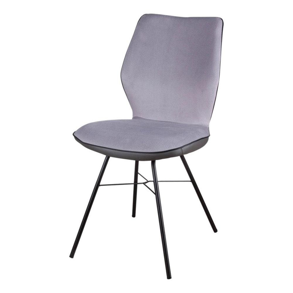 Silla ERIKA - Silla tapizada para comedor o despacho gracias a su estructura de acero.