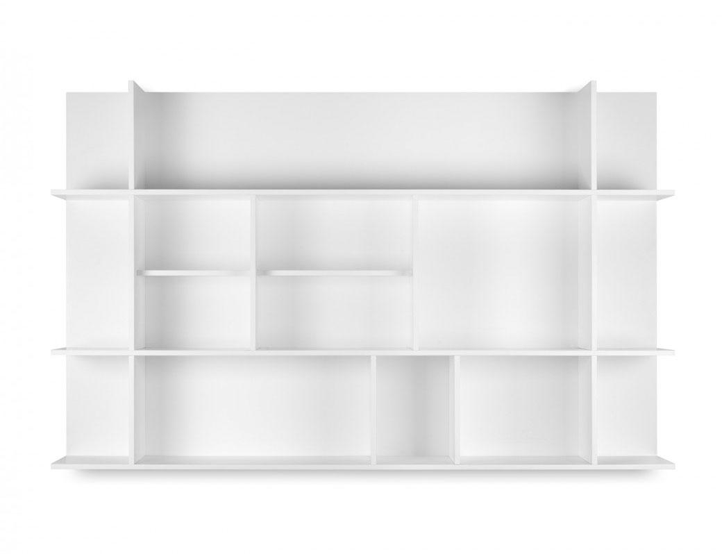 Estantería Panorama - Estantería Panorama - Estantería de pared con un efecto visual único en su clase.