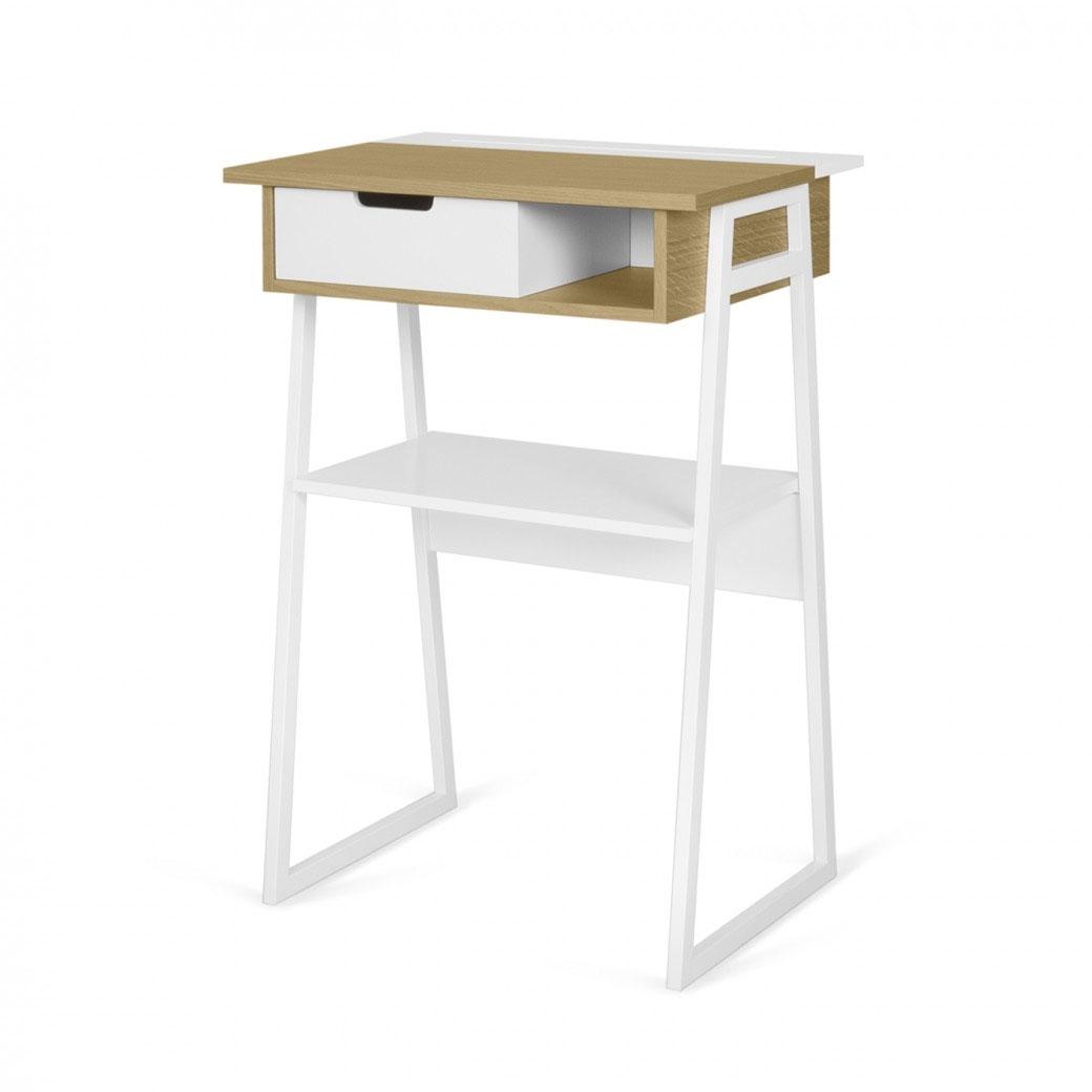 Escritorio Space - Escritorio Space, Este escritorio ergonómico y funcional es una versión moderna de un escritorio tradicional. Ideal para trabajar de pie.