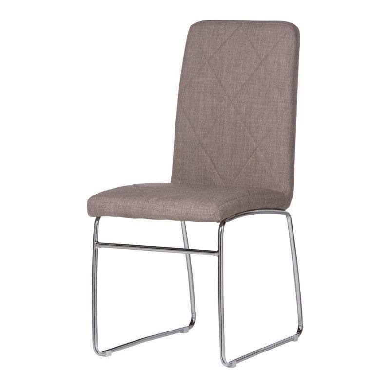 SILLA KARE TEJIDO - SILLA KARE TEJIDO, silla de estructura metálica tapizada en poliéster
