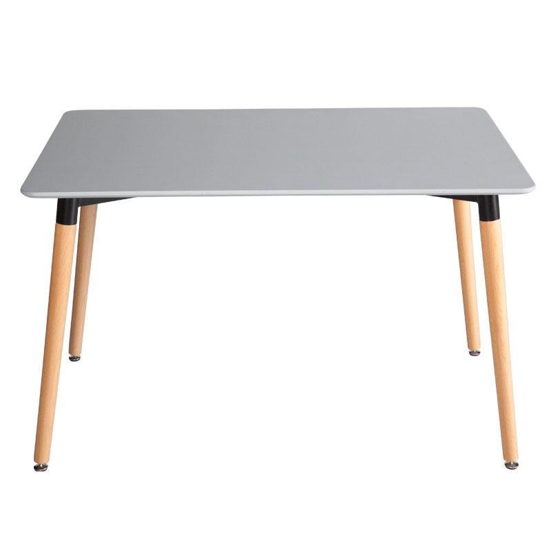 Mesa de comedor Basic - Mesa de comedor Basic, estructura de MDF lacada en brillo o natural.