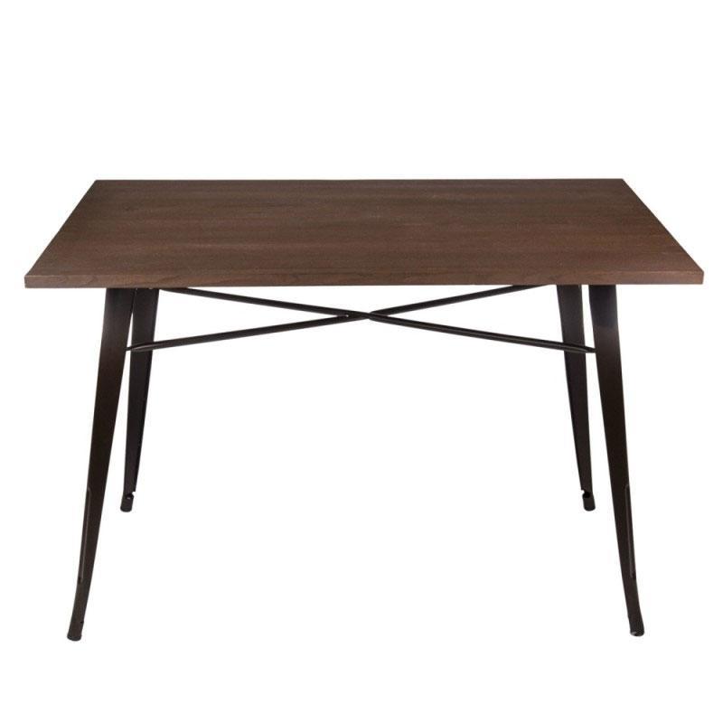 Mesa Volt cuadrada - Mesa Volt cuadrada, estructura de acero.