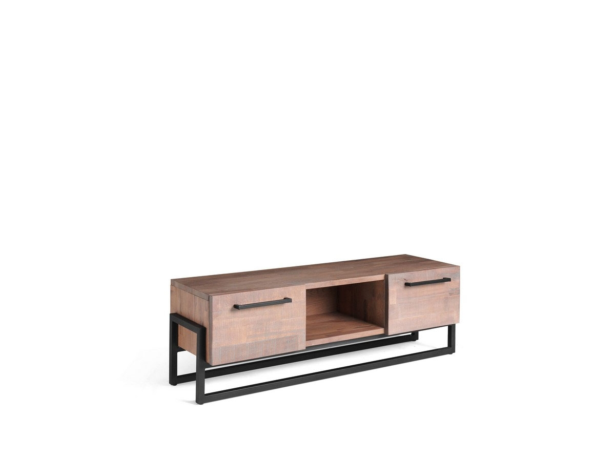 MUEBLE TV 150 CM CARDIFF ROBLE GLASE - MUEBLE TV 150 CM. CARDIFF ROBLE GLASE