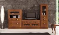 Salón contemporáneo Composición 22 - Salón contemporáneo madera