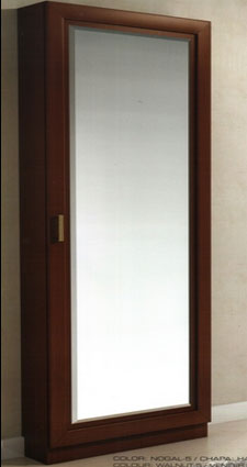 Zapatero grande con perchero y espejo granada salamanca for Zapatero alto con espejo