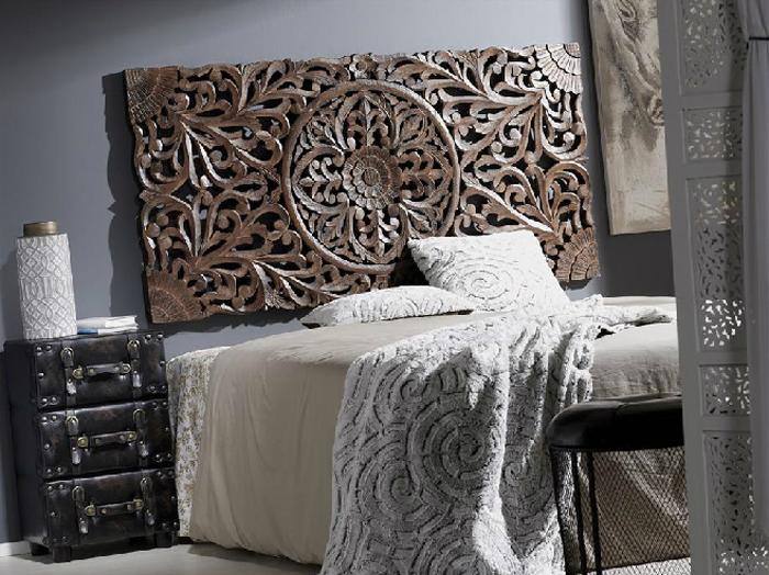 Cabezal de madera tallada - Cabezal de madera tallada