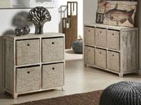 Muebles rústicos cajoneras - Muebles de madera natural