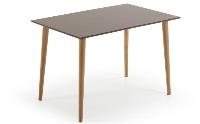 Mesa de madera fija - Mesa de comedor fija de madera