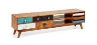 Mesa de TV en madera COLLIN  - Mesa de TV en madera COLLIN