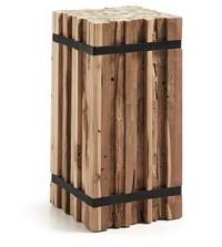 Columna Decorativa IRMA en madera - Columna Decorativa Madera Natural IRMA