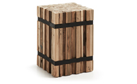 Columna Decorativa 504 IRMA en madera - Columna Decorativa Madera Natural IRMA