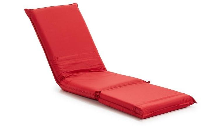 Puf-cama reclinable - Tumbona reclinabe 5 posiciones