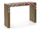 Cónsola de madera - Cónsola de madera decorada