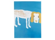 Cuadro al óleo retrato perro - Cuadro de un perro al óleo pintado a mano