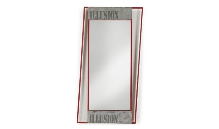 Espejo con marco decorativo - Espejo decorativo de hierro