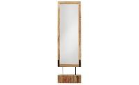 Espejo de pie - Espejo de pie de madera
