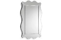 Espejo rectangular con marco retro OBI - Espejo rectangular con marco retro