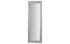 Espejo rectangular minimalista - Espejo rectangular con marco de madera en gris o blanco.