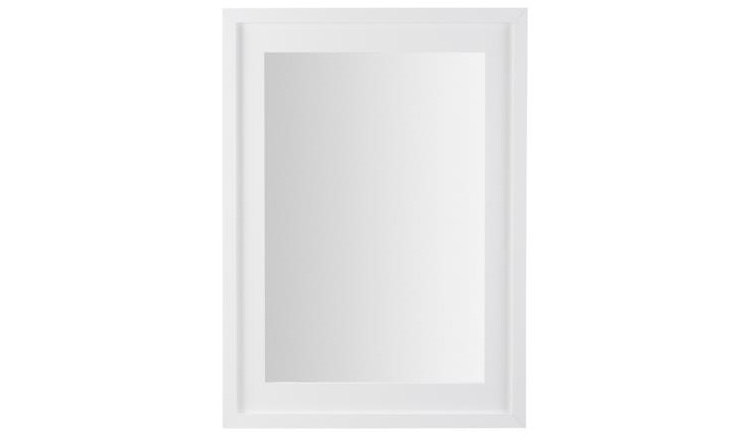 Espejo rectangular varios colores - Espejo rectangular con marco de madera laminada
