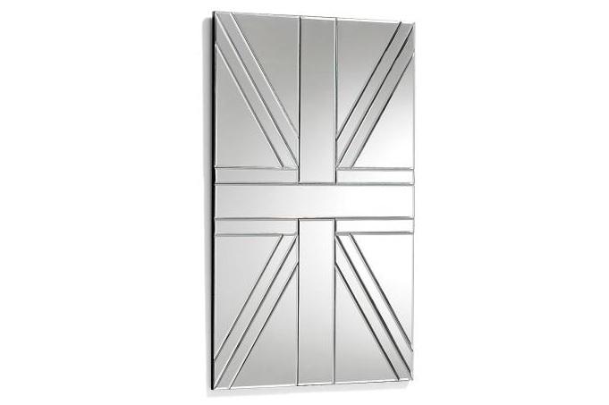 Espejo UK - Espejo rectangular con diseño de bandera