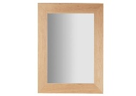 Espejo rectangular madera natural - Espejo rectangular con marco de madera