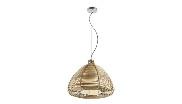 Lámpara de techo con bambú