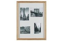 Portafotos de madera múltiple - Portaretratos múltiple de madera