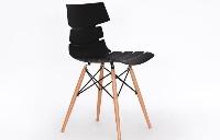 Silla para comedor de madera - Silla para comedir con pies de madera natural
