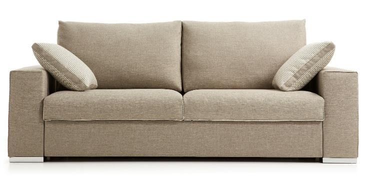 Sofá cama - Sofá cama con asientos viscoelástico
