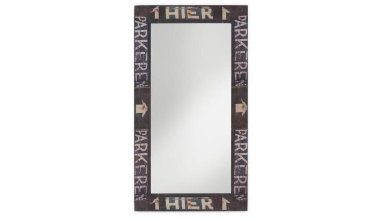 Espejo con marco decorativo - Espejo decorativo