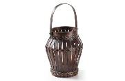 Velon de bambú - Velon de bambú color marron oscuro