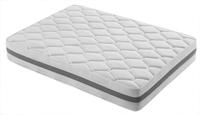 Colchón en tejido Strech. Núcleo de muelles bicónicos -  Acolchado en capas de eliocel perfilado