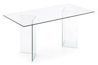 Mesa Comedor de cristal Transparente