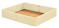 Cajón cama madera tapizado polipiel - Disponible en 3 colores