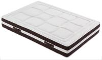 Colchón en tejido Strech Núcleo de muelles ensacados  - Acolchado superior e inferior en capas de eliocel y fibra termofusionada
