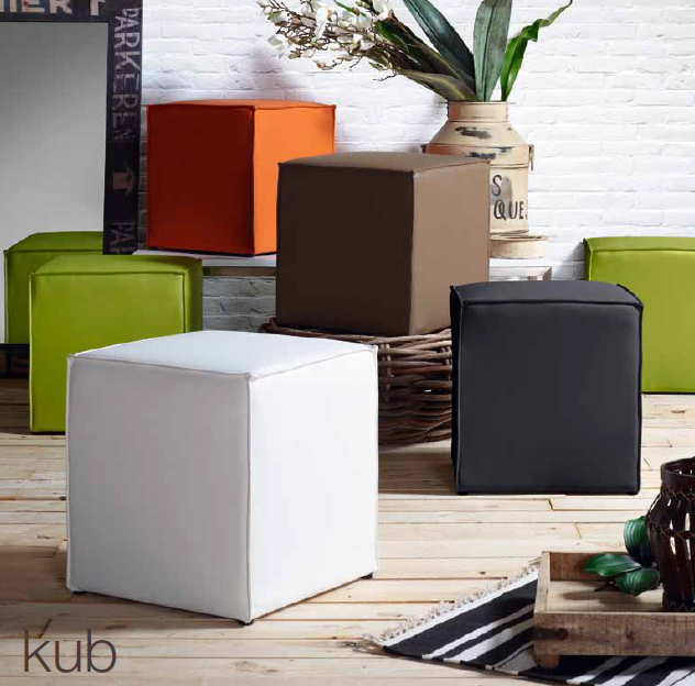 Puffs modernos dise o 2012 modelo kub for Puff diseno moderno
