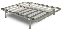 Somier estructura metálica - Estructura en tubo de acero con pintura epoxy.