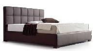 Cama MILANO - Elegante cama con cabecero tapizado